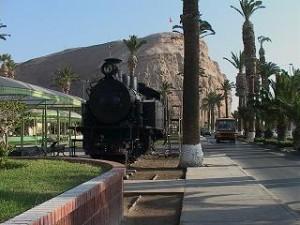 LocomLocomotora Arica-La Paz y morro