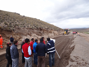Obras Publicas - carretera visviri