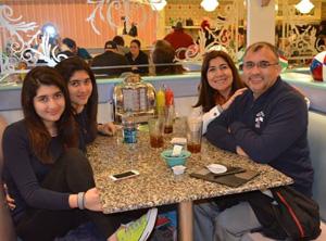 Emilio Rodríguez de vacaciones junto a su familia