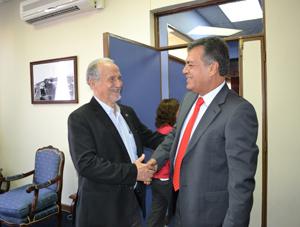 Alcalde Salvador Urrutia y Diputado Luis Rocafull