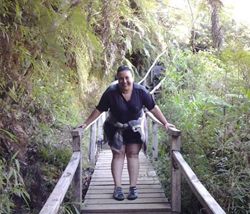 Vanessa Ponce en Chiloé