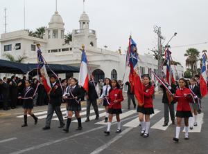 Educacion - desfile 21 de mayo