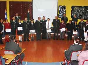 Gendarmeria - reconocimiento hijos