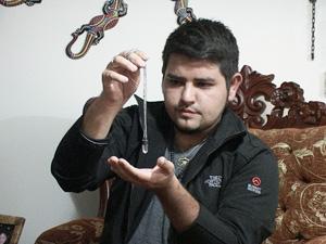 Psíquico ariqueño Ricardo Quinteros Alonzo