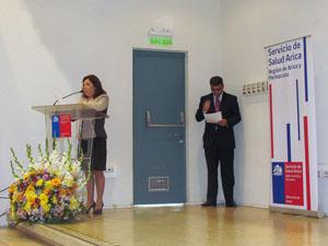 Directora Servicio Salud Arica, Dra. Viviana Durán