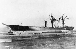 Arica de Sepia a Color: El acorazado América y el USS Wateree