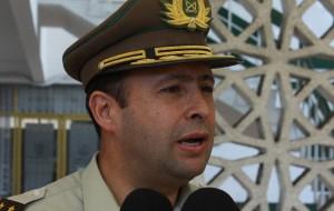 Jefe de Zona de Arica y Parinacota, General Alberto Etcheverry Baquedano