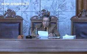 Ministro de la Corte de Apelaciones de Arica Rodrigo Olavarría