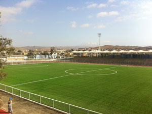 Estadio Canadela Isidoro Caqueo Guzmán