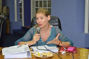 Concejala Lissette Sierra