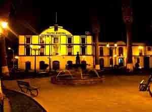 Teatro Municipal de Tacna, Perú