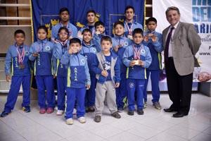 Alumnos medallistas del DAEM