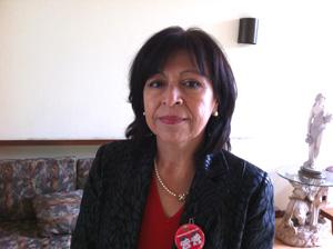 Oriana Ortuño, presidenta del regional Arica del Colegio de Matronas y Matrones de Chile