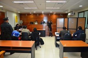 La Fiscalía obtuvo sentencia condenatoria en contra de los acusados.