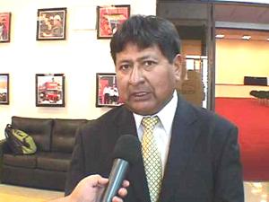 Gregorio Mendoza Chura Alcalde de General Lagos