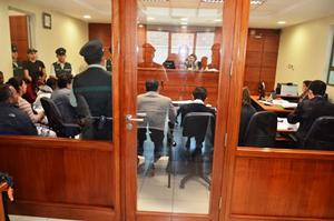 La Fiscalía formalizó a los detenidos por tráfico y asociación ilícita para el tráfico de migrantes y a uno de ellos por tráfico de drogas.
