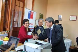 SEREMI de Justicia, Leonel Huerta en la Plaza Ciudadana en Tacna