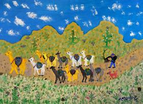 Pintura de Antonio Yucra