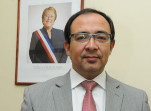 Agente regional de la Superintendencia de Salud Rafael Moreno Becerra