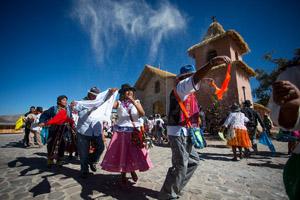 Festividad en Socoroma