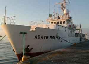Buque científico de IFOP Abate Molina
