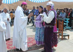 Festividad de la Virgen de los Remedios de Timalchaca, Patrona del pueblo andino.
