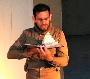 Fernando Montanares, actor y director del Teatro Experimental de la Universidad de Tarapacá