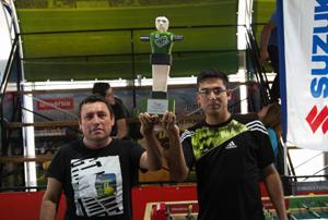 Representantes ariqueños Julio Ogalde y Josué Fuentes