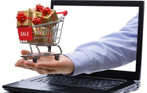 E-commerce gift shopping