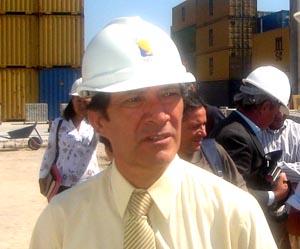 Mario Moya, Gerente de Desarrollo y Negocios de la Empresa Portuaria Arica.
