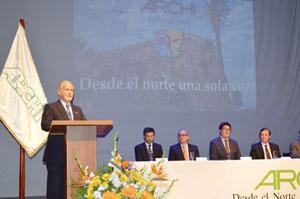 Alcalde Salvador Urrutia da la bienvenida a los radiodifusores  de Chile.
