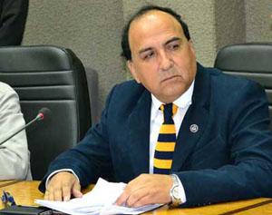 Concejal Juan Carlos Chinga, y candidato a alcalde en las primarias de Vamos Chile.