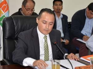 Claudio Acuña, nuevo presidente del Consejo Regional de Arica y Parinacota.