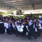 Injuv regaló más de 200 entradas para el cine a estudiantes del Liceo Agrícola de Azapa