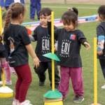500 párvulos de 13 jardines de la JUNJI participaron en Olimpiadas de los Jardines Activos