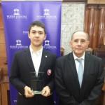 Ariqueño Ricardo Soto homenajeado por el Poder Judicial por su destacada participación en Río 2016