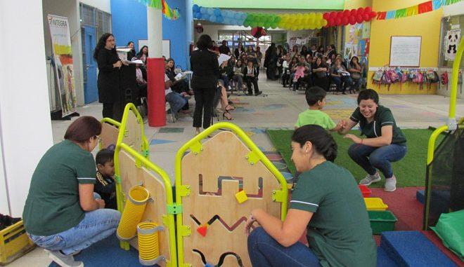 Jardines infantiles de integra tendr n juegos de patio for Jardines integra