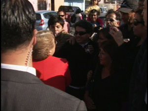 Escupitajo a Bachelet