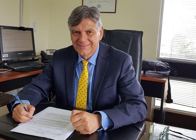 Raúl Gil González SEREMI de Justicia y Derechos Humanos
