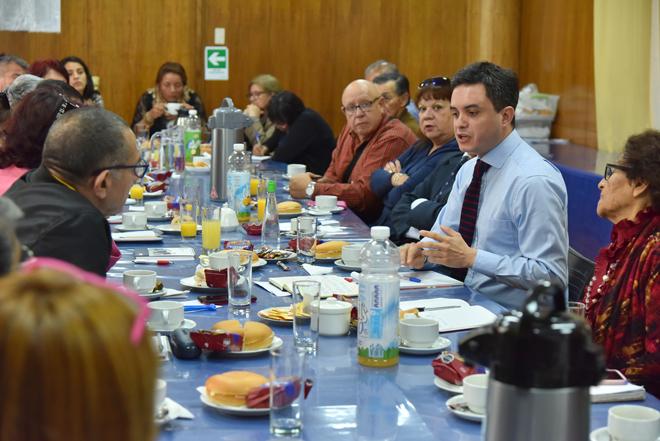 Dirigentes sociales entregaron propuestas en el marco de la contingencia regional_1