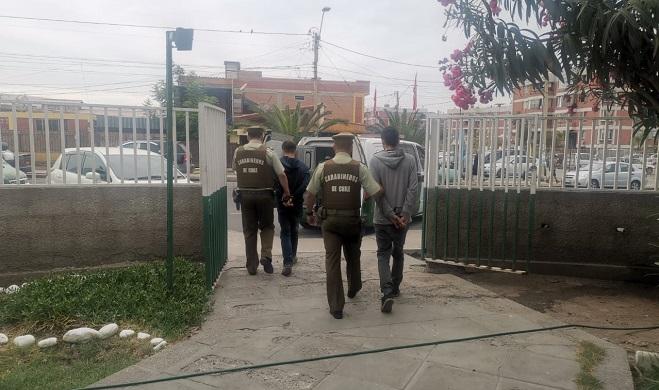 detenidos receptacion Subcomisaria Chinchorro norte (1)