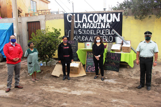 ENTREGA A ORGANIZACION OLLA COMUN LA MAQUINA IMG_7561