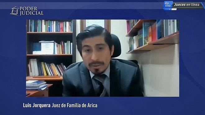 Luis Jorquera Pinto, juez del Juzgado de Familia de Arica