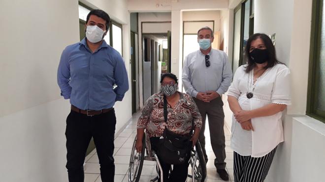 foto reunión con discapacidad