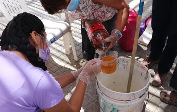 taller reciclaje aceite codpa