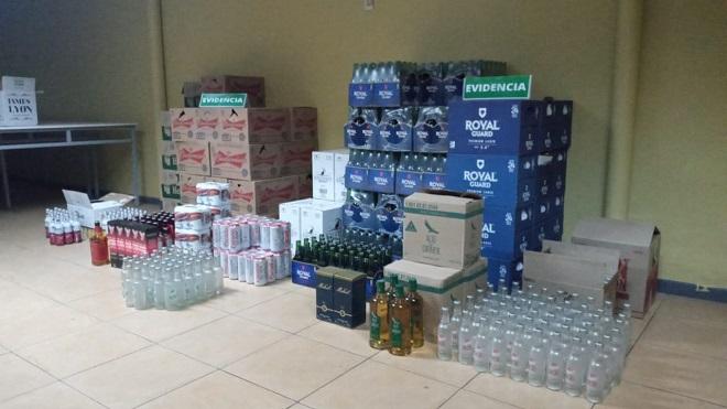 VENTA DE ALCOHOL CLANDESTINO