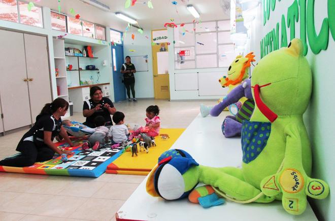Aula jardín infantil y sala cuna Sombrerito con Reconocimiento Oficial