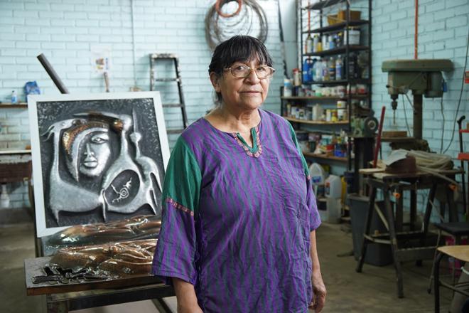 Edith Soza foto de Espacio Cultural Yanulaque